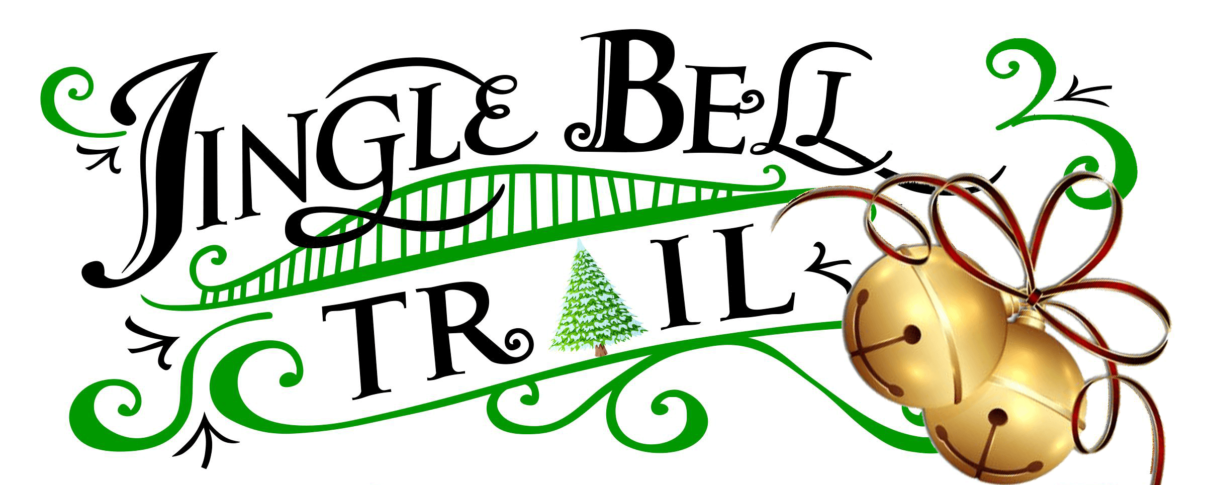 Jingle Bell Trail on the Downtown Scottsboro Square