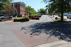 Renovation of the Jackson County square in Scottsboro, Alabama.